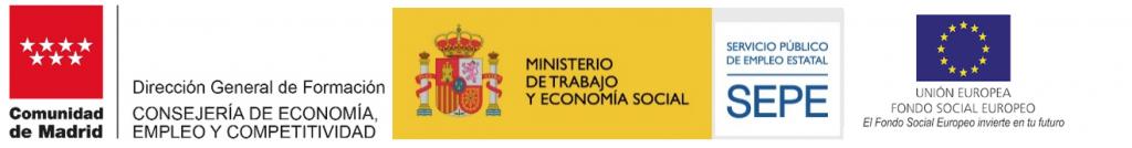 logos comunidad de madrid 2021 desempleados
